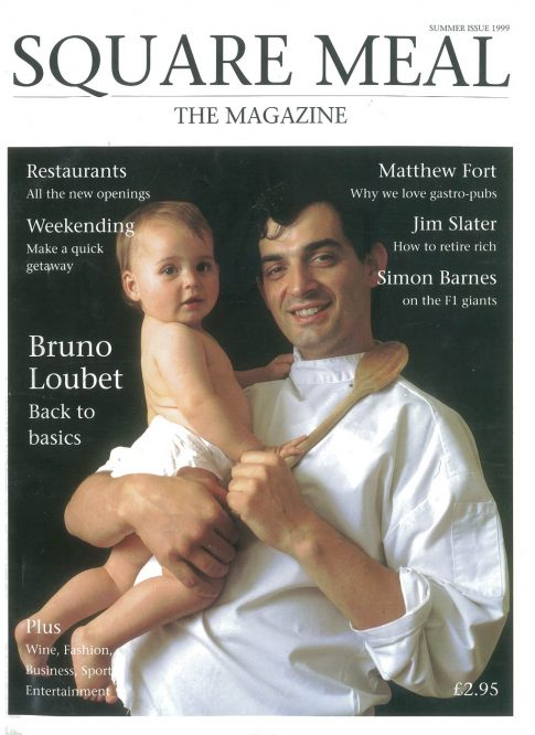 Bruno Loubet on the 'Square Meal' magazine cover