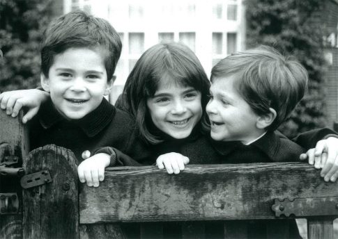Portrait of Jamie, Caroline & Alexander
