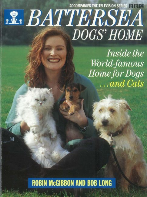 Book cover of Battersea Dogs' Home